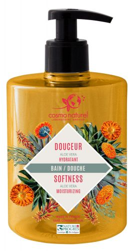 Gel Moussant Douceur Aloé Véra Cosmo Naturel 500 ml