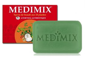 Authentique Savon Medimix Ayurvédique 18 plantes 125g