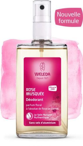 DEODORANT ROSE à la Rose de Damas 100ml