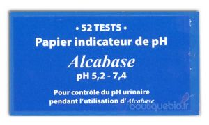 Papier indicateur de PH 52 testeurs