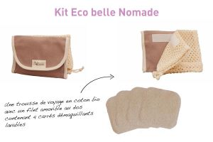 Kit Eco Belle Nomade bambou ecrue