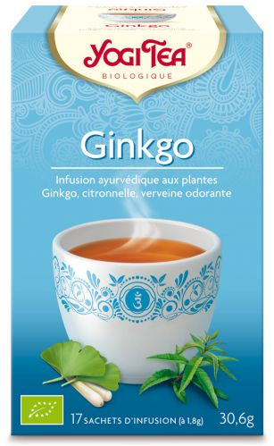 Infusion ayurvédique Ginkgo
