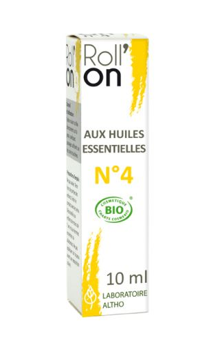 Roll\'On N°4 Brûlures 10 mL
