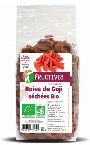 Baies de Goji sechees 500g
