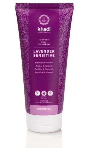 Shampooing ayurvédique lavender sensitive 200 ml