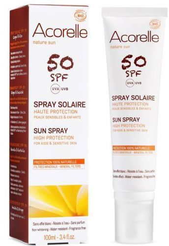 Spray solaire SPF 50 Haute protection 100 ml