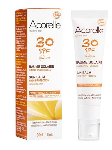 Baume solaire SPF 30 visage 30 ml