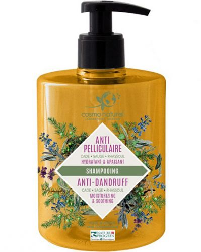 Shampooing Antipellicullaire - Cade Sauge Rhassoul- Flacon 500ml