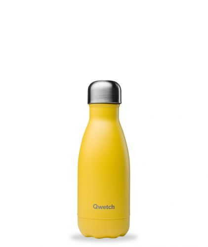 Bouteille isotherme Pop jaune 260 ml