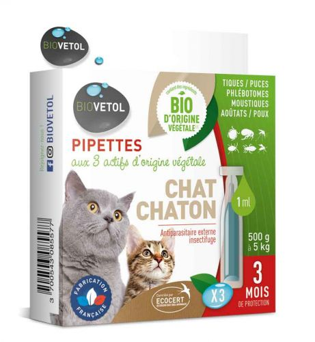 Pipette insecticides chat x 3