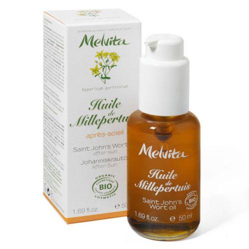 Melvita huile v g tale bio de millepertuis apaisante apr s soleil flacon 50 ml boutique bio - Huile vegetale coup de soleil ...