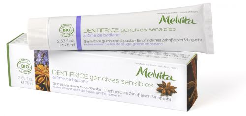 Dentifrice - Gencives Sensibles - arôme de badiane 75 ml