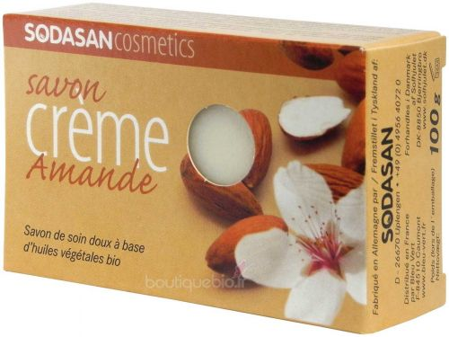 Bio Savon surgras Traditionnel Amande pain de 100g