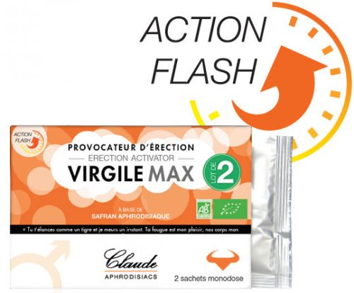 VirgileMax Provocateur d\'Érection FLASH 2x monodose