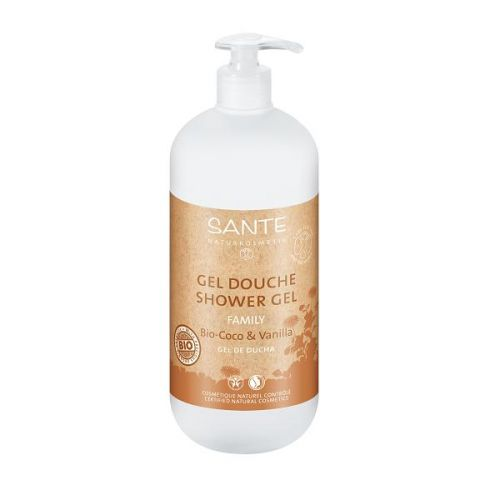 Gel douche vanille coco 950 ml