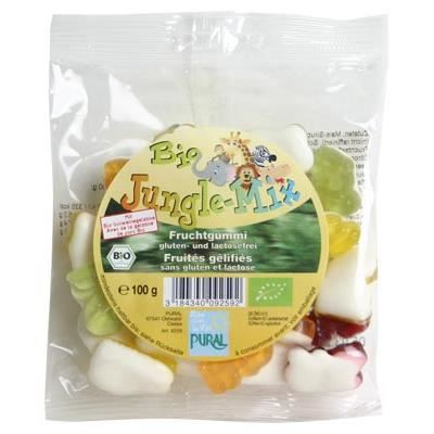 Bonbons fruités Jungle Mix 100 g