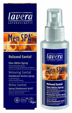 Spray Déodorant Actif Relax Santal Men Spa - Flacon 50 ml