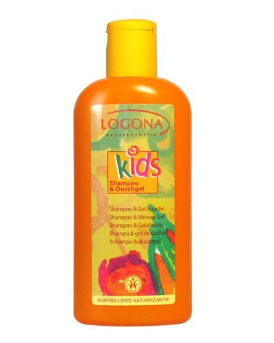 logona kids shampooing gel douche pour les enfants flacon 200 ml boutique bio. Black Bedroom Furniture Sets. Home Design Ideas