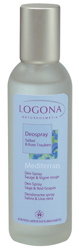 Déo Spray Mediterran Sauge & Vigne Rouge Logona 100 ml