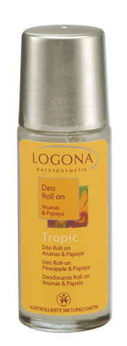 Déo Roll-on Tropic  Ananas & Papaye, lait de Coco logona 50 ml