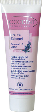 Gel Dentaire Romarin & Sauge Logodent Tube 75 ml