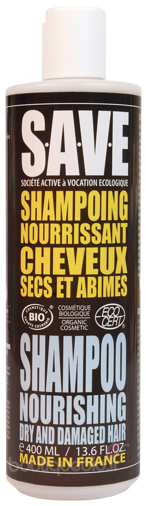 save shampoing nourrissant cheveux secs et abim s 400ml boutique bio. Black Bedroom Furniture Sets. Home Design Ideas
