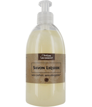 gravier savon liquide main sans parfum sans allerg nes 500ml boutique bio. Black Bedroom Furniture Sets. Home Design Ideas