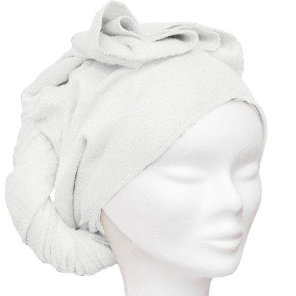 3a034b35f910 Les tendances d Emma - serviette à cheveux - bambou ecru - Boutique bio
