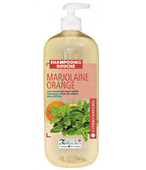 Shampooing douche marjolaine orange cosmo naturel 1 l