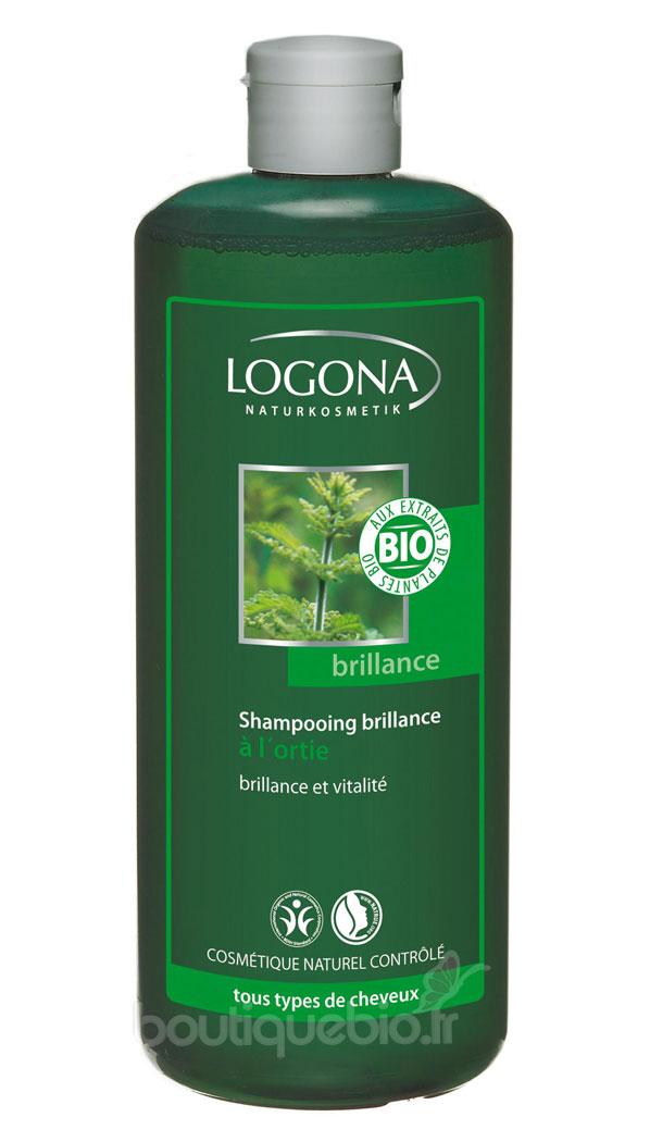 logona shampooing brillance l 39 ortie tous cheveux 500. Black Bedroom Furniture Sets. Home Design Ideas