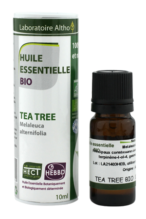 laboratoire altho huile essentielle tea tree bio 10 ml boutique bio. Black Bedroom Furniture Sets. Home Design Ideas