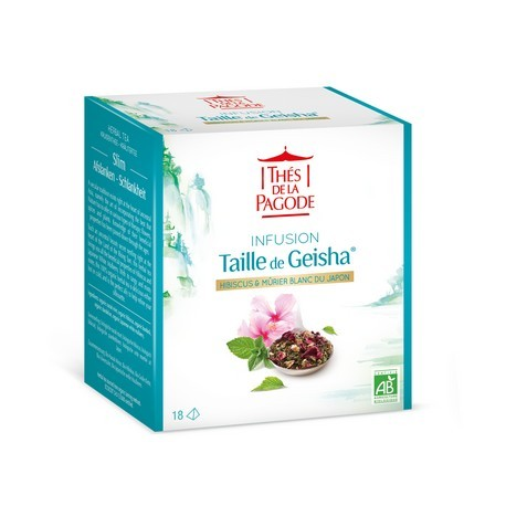 Taille de Geisha - Infusion Bio Silhouette 18 infusettes