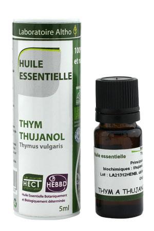 laboratoire altho huile essentielle thym thujanol 5 ml boutique bio. Black Bedroom Furniture Sets. Home Design Ideas