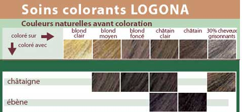 chateigneebenejpg - Coloration Logona Cheveux Blancs
