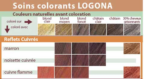 logona soin colorant v g tal couleur cuivre flamme boutique bio. Black Bedroom Furniture Sets. Home Design Ideas