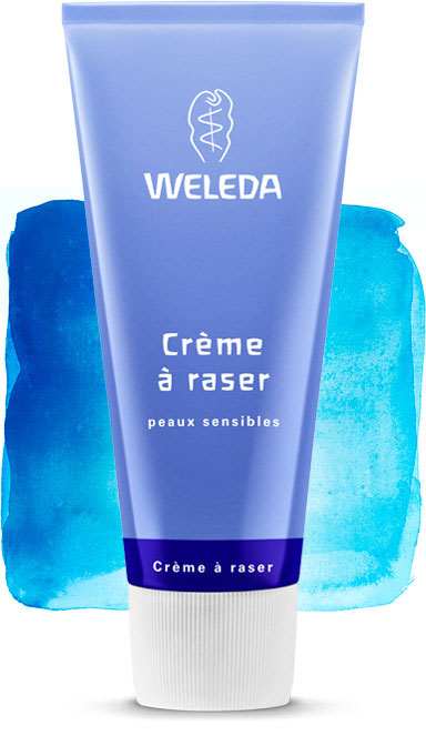 weleda creme a raser peaux sensibles 75 ml boutique bio. Black Bedroom Furniture Sets. Home Design Ideas