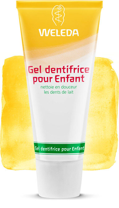 weleda gel dentifrice enfant douceur pour les dents de lait 50 ml boutique bio. Black Bedroom Furniture Sets. Home Design Ideas