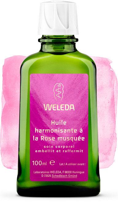 huile vegetale rose musquee weleda