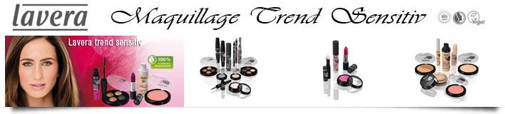 Maquillage bio Lavera trends sensitive