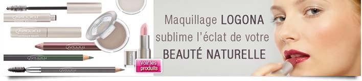 Nouveaux Maquillage bio Logona 2011