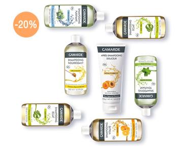Promotion shampoing Gamarde