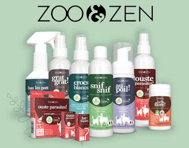 Zoo & Zen solution vétérinaire 100% naturelle - 40%
