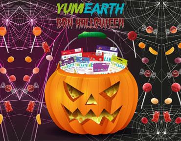 Spécial Halloween Bonbons et maquillage bio