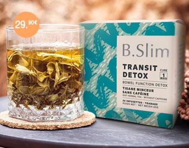 B.Slim est un produit complet, émolient, détoxinant et diurétique.
